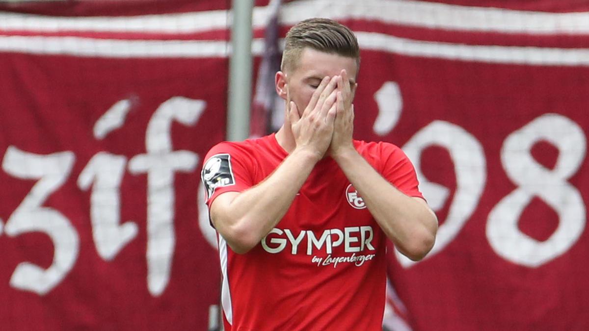 1. FC Kaiserslautern geht gegen Meppen unter
