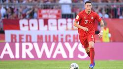 Niklas Süle arbeitet beim FC Bayern weiter an seinem Comeback