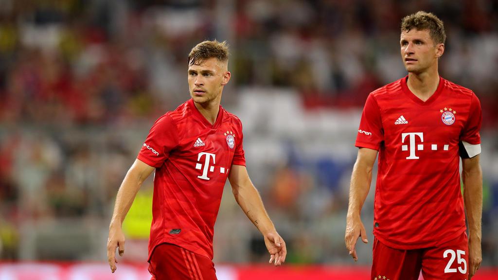 Joshua Kimmich sieht Thomas Müller als Identifikationsfigur des FC Bayern