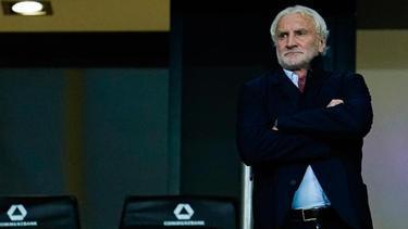 """Rudi Völler sieht bei einer Leistungssteigerung eine """"realistische Chance"""" bei Atlético Madrid"""