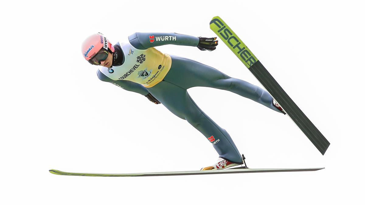 Karl Geiger überzeugt weiter im Weltcup