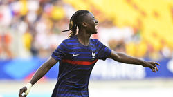 Erzielte Anfang September für Frankreichs U21 ein Tor in der EM-Quali: Eduardo Camavinga