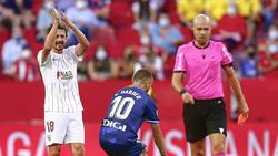 Ex-BVB-Star Thomas Delaney applaudiert höhnisch - und fliegt Sekunden später vom Platz