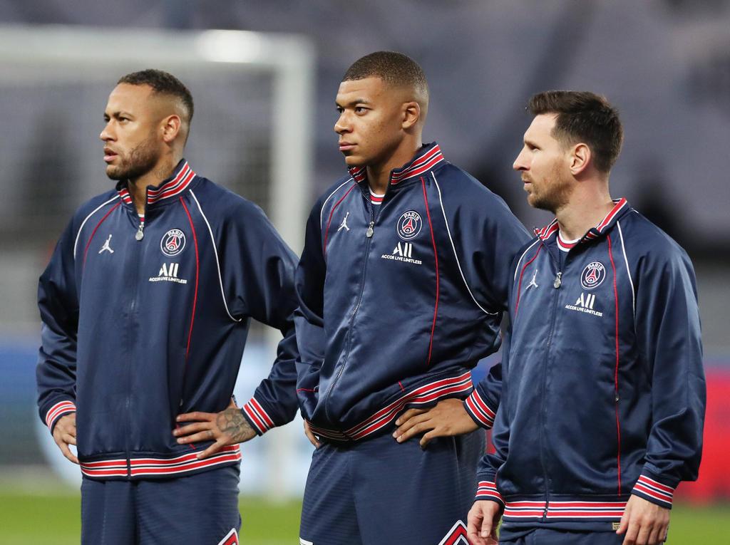 Neymar, Mbappé y Messi conforman una delantera de ensueño.