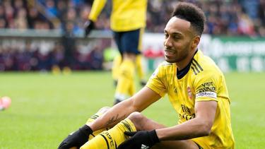 Pierre-Emerick Aubameyang hat für den FC Arsenal getroffen