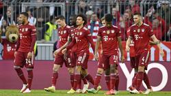 Der FC Bayern gewann gegen Hoffenheim mit 4:0