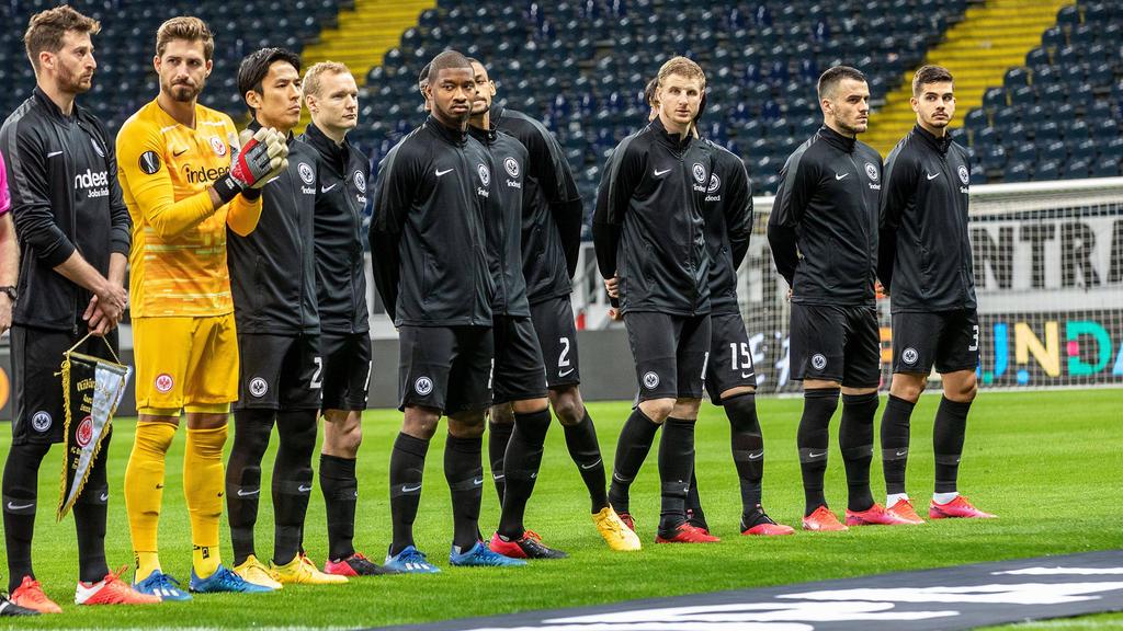 Die europa-League-Reise der Frankfurter Eintracht endet wohl vorzeitig