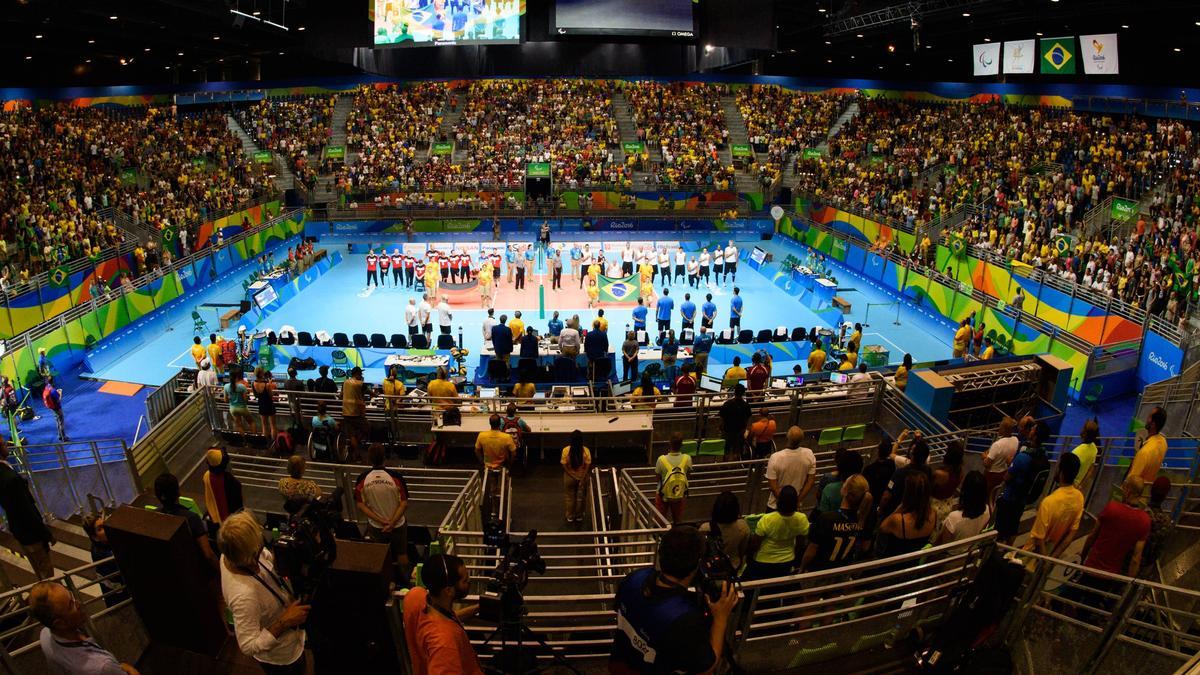 Die deutschen Sitzvolleyballer sind bei den Paralympics dabei
