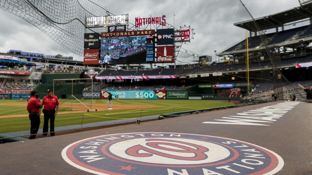 Die verspätete MLB-Saison startet in der Hauptstadt