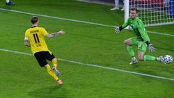 Marco Reus traf direkt bei seinem Comeback im BVB-Dress