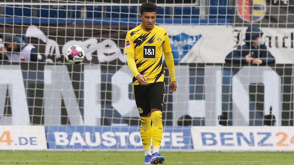 Rennt beim BVB seiner Topform hinterher: Jadon Sancho