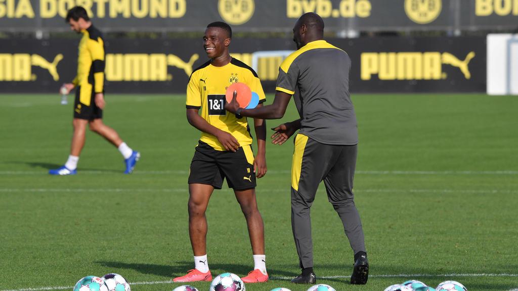 Otto Addo glaubt an den Durchbruch von BVB-Juwel Youssoufa Moukoko