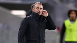 Hansi Flick und der FC Bayern mussten sich mit einem Remis gegen Werder Bremen abfinden