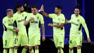 Atlético Madrid feierte einen wichtigen Sieg