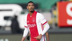 Sébastien Haller kann nicht für Ajax in der Europa League auflaufen