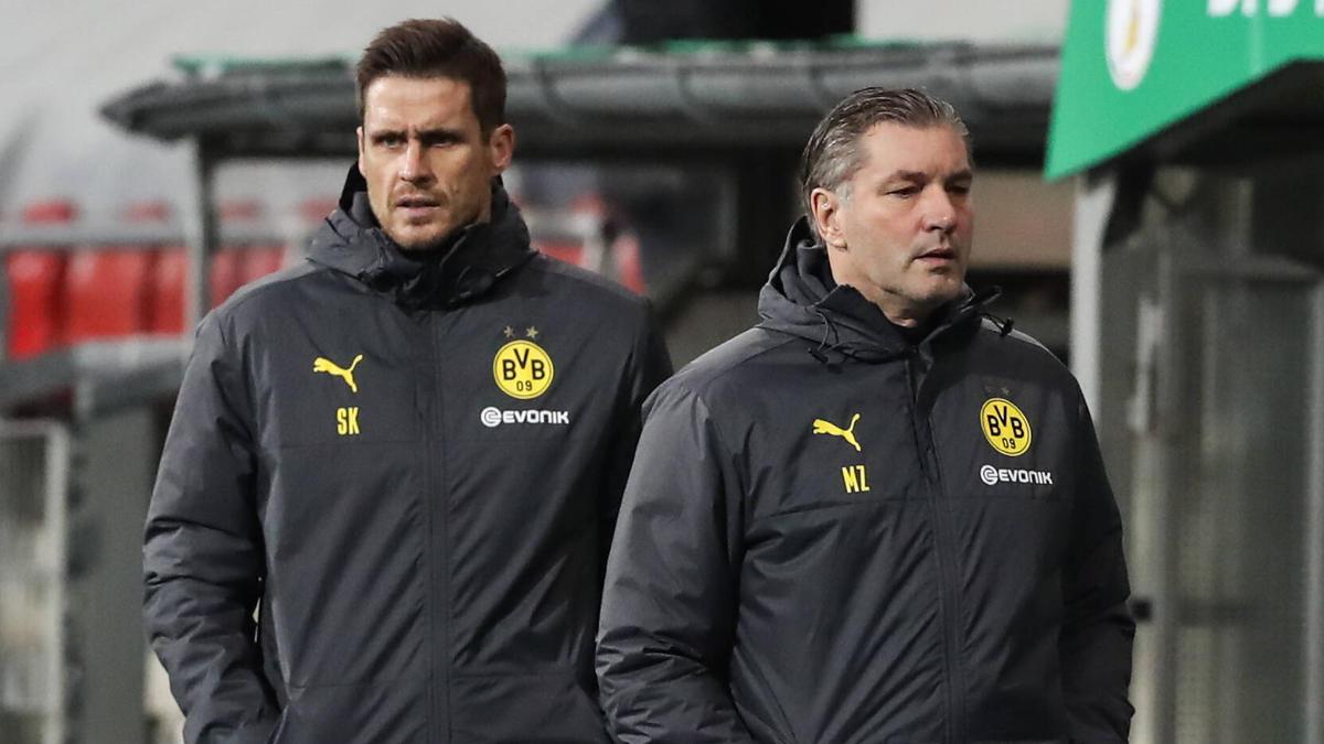 Sebastian Kehl (l.) und Michael Zorc vom BVB