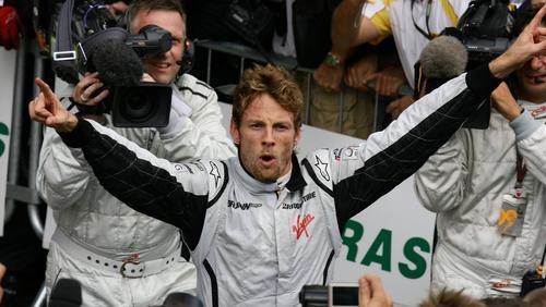 Jenson Button wurde 2009 Weltmeister im Brawn GP
