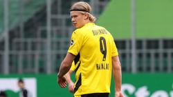 Erling Haaland fehlt dem BVB im Pokal-Halbfinale