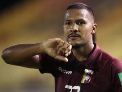 Salomón Rondón no podrá estar con su combinado nacional.