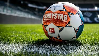 Derbystar-Ball bekommt neuen Anstrich