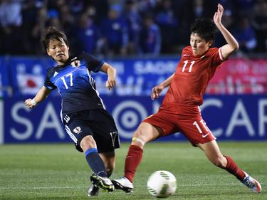 Asuna Tanaka (l.), Wang Shanshan (r.)