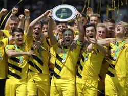 Nach 2014 holen die B-Junioren des BVB auch im Jahr 2015 die Meisterschaft