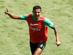 Australiens Tim Cahill könnte im letzten Gruppenspiel gegen Peru seinen ersten WM-Einsatz haben