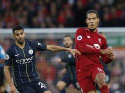 City y Liverpool empataron a falta de puntería. (Foto: Getty)