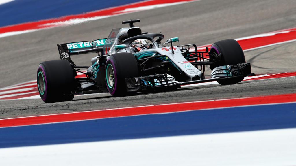 Lewis Hamilton sicherte sich auch in Austin die Pole Position