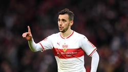 Anastasios Donis erzielte den entscheidenden Treffer für den VfB Stuttgart