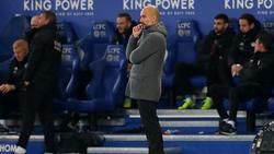 Pep Guardiola grübelt über die Schwächephase von Manchester City