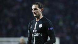 Der Vertrag von Adrien Rabiot läuft bei PSG im Sommer aus