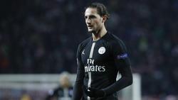 Der Vertrag von Adrien Rabiot bei PSG läuft am Ende der Saison aus