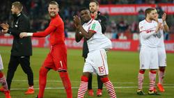 Jhon Córdoba war beim Sieg des 1. FC Köln der Mann des Abends