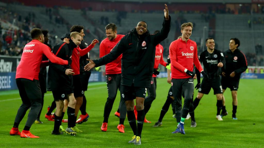 Beste Stimmung bei Eintracht Frankfurt