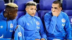 Die Zeit von (v.li.) Hamza Mendyl, Amine Harit und Nabil Bentaleb auf Schalke läuft ab