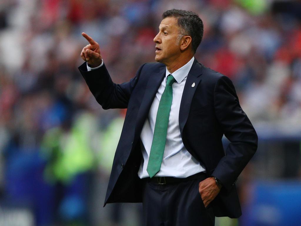 Mexikos Trainer Juan Carlos Osorio wird mit einer B-Elf beim Gold Cup antreten