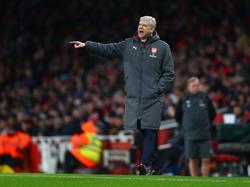 Arsène Wenger und der FC Arsenal hinken in der Premier League hinterher