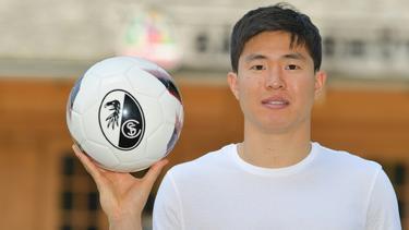 Kommt aus Frankreich zum Sportclub: Chang-Hoon Kwon