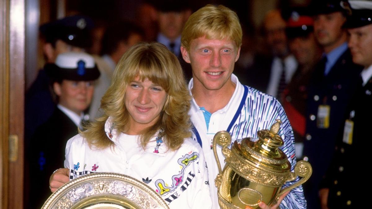 Steffi Graf und Boris Becker schafften 1989 Einzigartiges