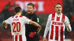 Jannes Horn (re.) und Salih Özcan stehen auf der Abschussliste des 1.FC Köln