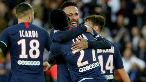 Superstar Neymar erzielt für Paris Saint Germain das 4:0
