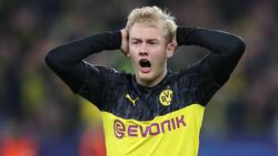 Julian Brandt ist unter BVB-Trainer Lucien Favre nicht gesetzt