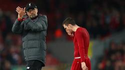 Klopp zitterte sich mit dem FC Liverpool zum Sieg in der Champions League gegen Salzburg