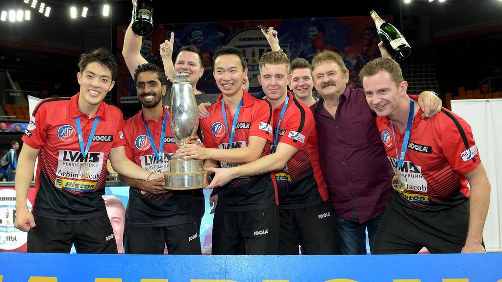 Der ASV Grünwettersbach ist Pokalsieger