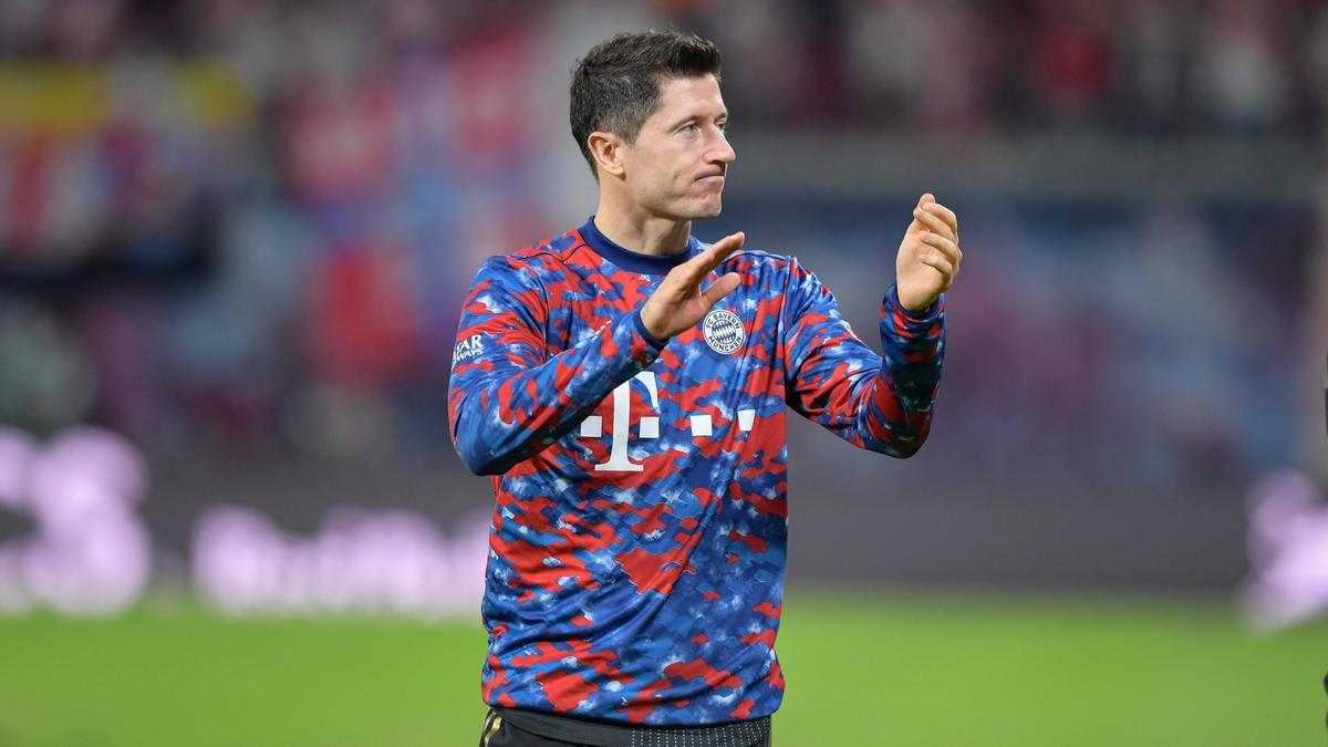 Robert Lewandowski vom FC Bayern will noch mindestens vier Jahre spielen