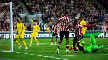 Der FC Brentford holte einen Punkt gegen den FC Liverpool