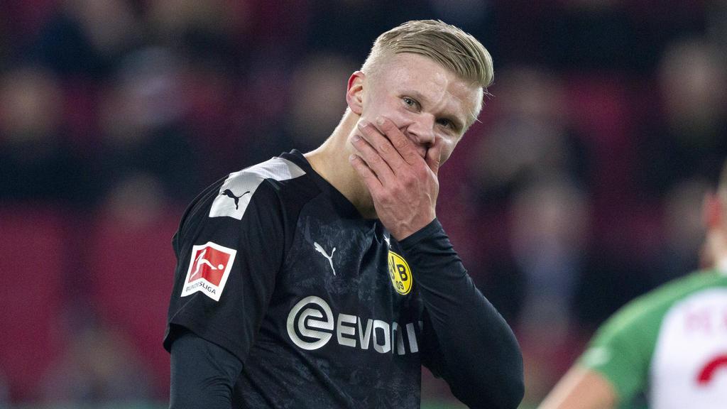 BVB-Neuzugang Erling Haaland feierte gegen Augsburg ein Traumdebüt