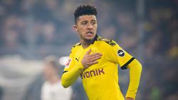 Jadon Sancho vom BVB weckt bei vielen Top-Klubs Begehrlichkeiten