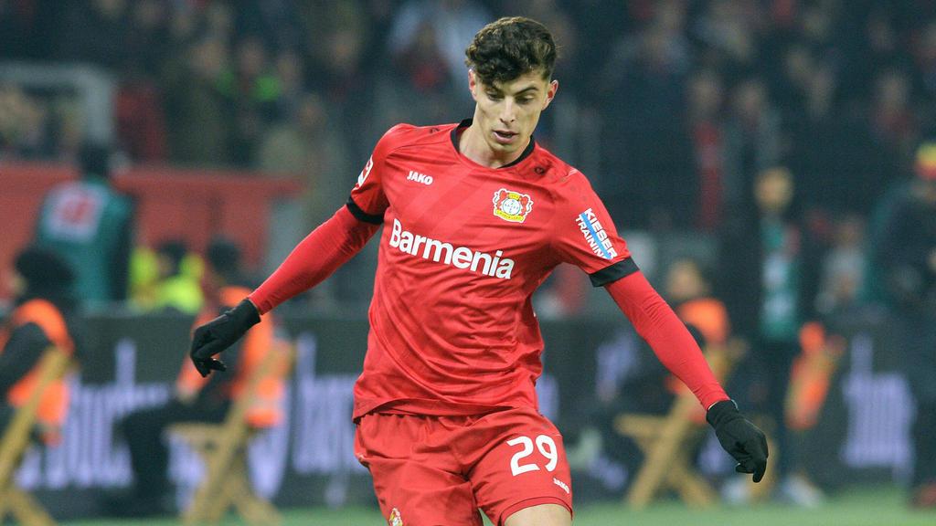 Kai Havertz wird Bayer Leverkusen wohl im Sommer verlassen
